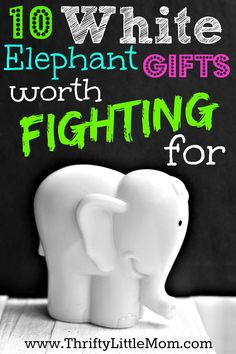 White Elephant gifts worth fighting for. Inspiration for finding the perfect white elephant gifts, Yankee swap ideas or gift exchange solutions. # white elephant Gift Ideas White Elephant Gifts Worth Fighting For Noel Christmas, Christmas Games, Christmas Ideas, Gag Gifts For Christmas, Christmas Ecards, Christmas Exchange Ideas, Holiday Gifts, Xmas Games, Christmas Crafts