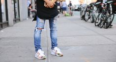 New York City Street Style: June 1, 2015 - Four Pins