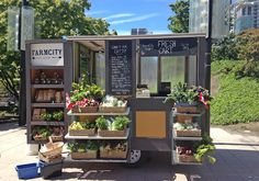 Farm on wheels Fresh Cart, a farmer's market on wheels, joined Vancouver's street food scene last week to sell fresh produce and fruits, snacks and some processed foods. It's a partnership between Re-Up barbecue and FarmCity Co-op (eight small, local sus
