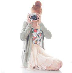 Shop this look on Kaleidoscope (skirt, shirt, sweater)  http://kalei.do/WqNLxg5N1AKNTqUl