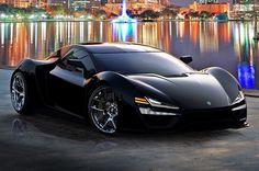Trion Nemesis echo a mano en los EEUU con 2000.-hp y una velocidad de 435 km/ ph. Motor V8 de 9.0 lt,doble turbo. De 0-100 en 2,8 seg.50 unidades maximo a un precio de US$ 1.000.000.-Salida,2016.-