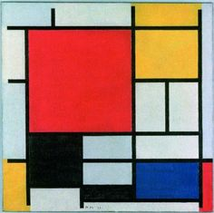 Oh Peit Mondrian and the De Stijl style, how i love thee . (Composition 21 by Mondrian) Mondrian Art Projects, Abstract Paintings, Abstract Art, Arte Fashion, Henri Matisse, Grafik Design, Art Plastique, Oeuvre D'art, Art Lessons