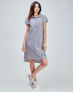 Платье рубашка 2016