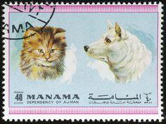 Manama 1972 Cat Stamps