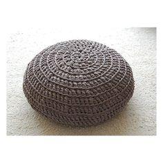 Zpaghetti poef (stokjes). Dit is een patroon voor een poef gemaakt met vasten: http://www.hoooked.nl/patronen/home-deco/gratis-patroon-simpele-zpagetti-poef