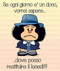 vintage & co Funny Images, Funny Pictures, Mafalda Quotes, Italian Quotes, Feelings Words, Child Smile, Learning Italian, Good Morning Good Night, Mood Quotes