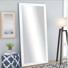 Zipcode Design™ Dendron 8 Drawer Double Dresser & Reviews   Wayfair Wall Mounted Jewelry Armoire, Wall Mounted Mirror, Modern Full Length Mirrors, Colored Dining Chairs, Over The Door Mirror, Leaning Mirror, Contemporary Wall Mirrors, Mirrors Wayfair, Decor Pillows