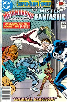 Super-Team Family: The Lost Issues!: Metamorpho and Mr. Fantastic