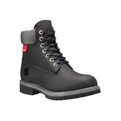 """Men's Timberland Classic 6"""" Premium Boot ($190) ❤ liked on Polyvore featuring men's fashion, men's shoes, men's boots, men's work boots, casual, suede shoes, mens american flag boots, mens waterproof boots, timberland mens boots and mens waterproof work boots"""