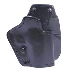 3 Layer Synthetic Leather Paddle Holster - CZ 75 P07 Duty, Black, Right Hand