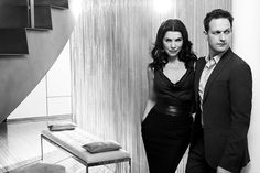 Julianna Margulies & Josh Charles by Jim Wright