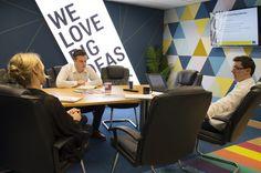 Meeting rooms that speak you brand!