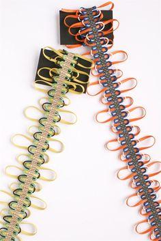 Passamenterie by English designer and trimming weaver Jessica Light. via the designer's shop