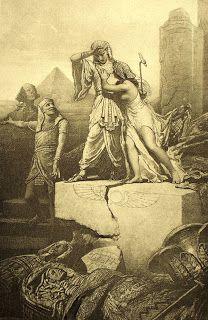 Kitekintő: Zichy Mihály <br />Az ember tragédiája - Rézkarcfitness Old Egypt, Ancient Egypt, Egyptian Art, Religious Art, Art World, American Art, Printmaking, Mythology, Street Art