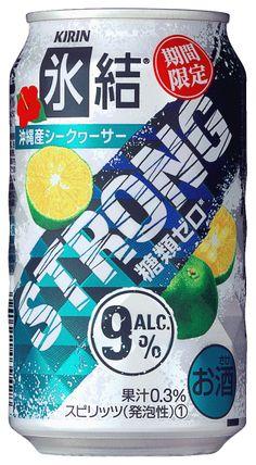 KIRIN - 氷結 STRONG 沖縄産シークヮーサー
