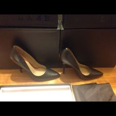 New lamb kadan pumps / heels size 8 black leather New lamb kadan pump / high heels size 7 black leather L.A.M.B. Shoes Heels