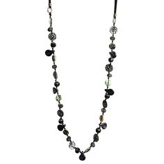 WE PREDICT THAT VENETIA WILL BE ONE OF THE STARS OF THIS COLLECTION AND A MAINSTAY OF MANY WINTER WARDROBES! WHO DOESN'T LIKE BEAUTIFUL BLACK BEADS WITH A MODERN TWIST? YOU ONLY HAVE TO SEE THE INCREDIBLE DETAIL ON THE MOTHER OF PEARL BEADS TO APPRECIATE HER QUIET QUIRKS. EASY TO POP ON VENETIA ALSO HAS BLACK SUEDE CORD WITH A LOBSTER CLASP & A 5CM EXTENSION CHAIN. Gold Jewelry, Beaded Jewelry, Beaded Necklaces, 14 Karat Gold, Pearl Beads, Button Jewellery, Pendant Necklace, Aw17, Pearls