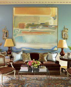 TG interiors: Decor and Art and Introducing Rachel Rubenstein