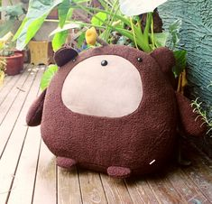 Original handmade plush toy