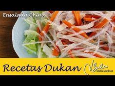 Ensalada China Dukan (Crucero) | Recetas Dukan Maria Martinez