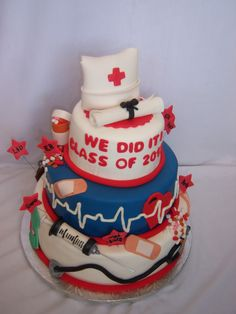 nursing graduation | Creative Cakes By Angela: Graduation from Nursing School