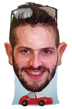 http://www.smileypersons.com/ #caricature #portrait #painting #smileyfacetweet