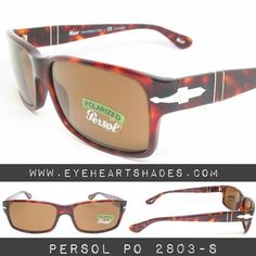 588eb3af6f0c5f Persol PO 2803-S Havana with Polarized Brown Lenses. Link in Bio.