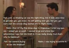 Ted and Robin <3