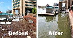 Solar-Powered Water Wheel Removes 350 Tons of Trash From Baltimore Harbor Baltimore Inner Harbor, Stem Classes, Green News, Solar Generator, Our Environment, Environmental Issues, Environmental Pollution, Water Quality, Solar Panels