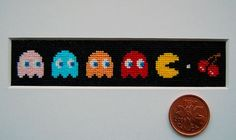28 Delightfully Geeky Videogame Cross Stitches - Neatorama