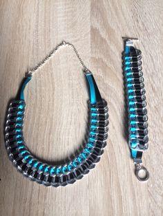 Capsule sets - The creations of Sónia Soda Tab Crafts, Can Tab Crafts, Pop Top Crafts, Pop Can Tabs, Soda Can Art, Soda Tabs, Bracelet Knots, Recycled Jewelry, Bracelet Tutorial