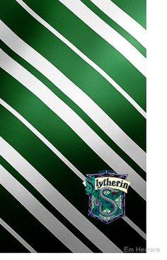 Harry Potter Slytherin Colors/Logo by Em Herrera