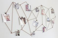 thrifty decorating ideas // on the wall