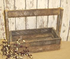 rustic wood totes | Lath Tote-All :: Wood Crafts :: Wholesale Country Primitive Gifts/ Kp ...