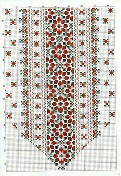 Crochet Borders, Cross Stitch Borders, Cross Stitching, Cross Stitch Embroidery, Hand Embroidery, Cross Stitch Patterns, Bargello Patterns, Textile Patterns, Embroidery Patterns