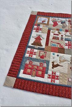 The Night Before Christmas Quilt #2   Tamarack Shack   Bloglovin'