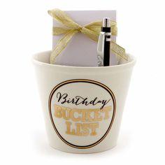 Birthday Bucket List Gift Set