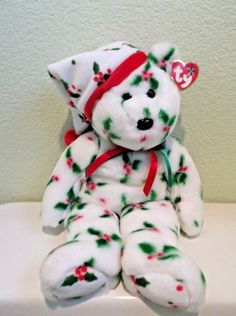 TY 1998 Holiday Teddy Beanie Buddies Collection Original Tag  Ty Beanie  Buddies b76ee5a9734c