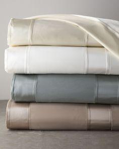donna karan essentials city stripe bedding collection wish list pinterest beds donna and stripes