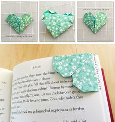 How To Make Origami Bookmark Step By Tutorial Instruction