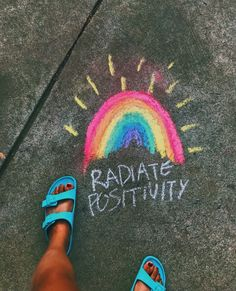 """𝓡𝓪𝓭𝓲𝓪𝓽𝓮 𝓹𝓸𝓼𝓲𝓽𝓲𝓿𝓲𝓽𝔂🖍🌈 Comment """"🌊"""" if you're from explore page Chalkboard Doodles, Chalkboard Art, Hospital Signs, Chalk Design, Sidewalk Chalk Art, Chalk It Up, 3d Chalk Art, Chalk Drawings, Art Drawings"""