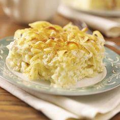 Lemon Noodle Kugel Recipe from Taste of Home