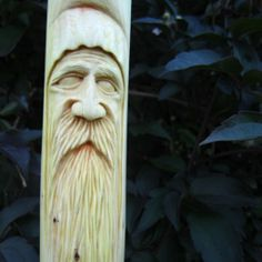 Woodwose Carving