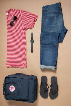 Outfit grid - Day at the seaside