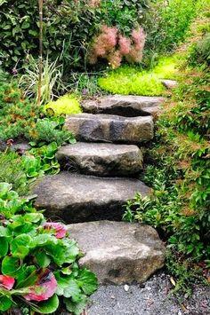 Beautiful Steps for backyard