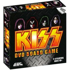 Kiss Merchandise, Vintage Kiss, Kiss Band, Hot Band, Fun Board Games, Boredom Busters, Happy Birthday Images, Cool Bands, Rock And Roll