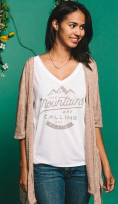 Love this outfit?! Each Sevenly shirt gives back to a great cause. Check it out and dress for change!