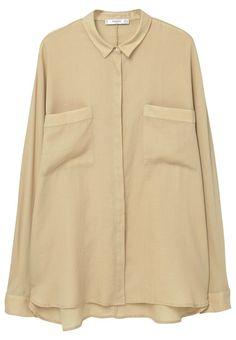 Mango MEREN Hemdbluse medium brown Bekleidung bei Zalando.de | Material Oberstoff: 100% Baumwolle | Bekleidung jetzt versandkostenfrei bei Zalando.de bestellen!