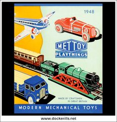 Mettoy Catalogue 1948 - Front Cover. Photo in DOCKERILLS - TIN TOY REFERENCE - GREAT BRITAIN - Google Photos All Toys, Great Britain, Craftsman, Tin, The Past, Photos, Pictures, Cover, Google