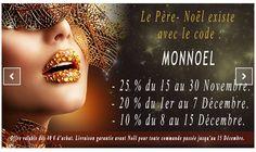 Promos pour Noël chez : http://www.bijoux-sexy.fr/ Jusqu'au 15 Décembre 2015.